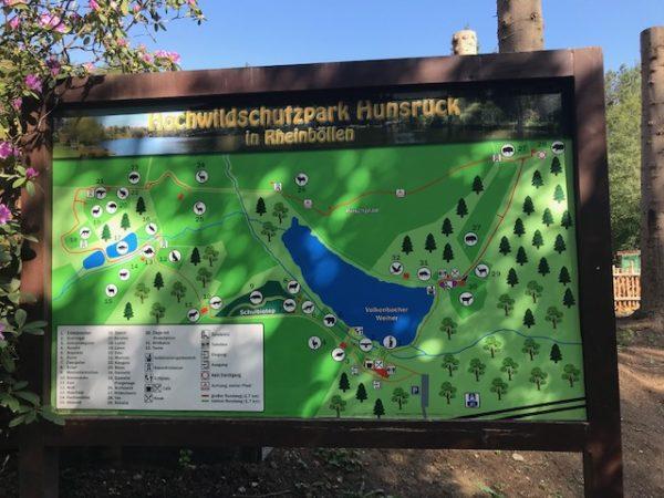 Hochwildschutzpark Hunsrück in Rheinböllen