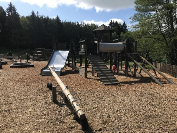 Spielplatz im Hochwildschutzpark Hunsrück in Rheinböllen