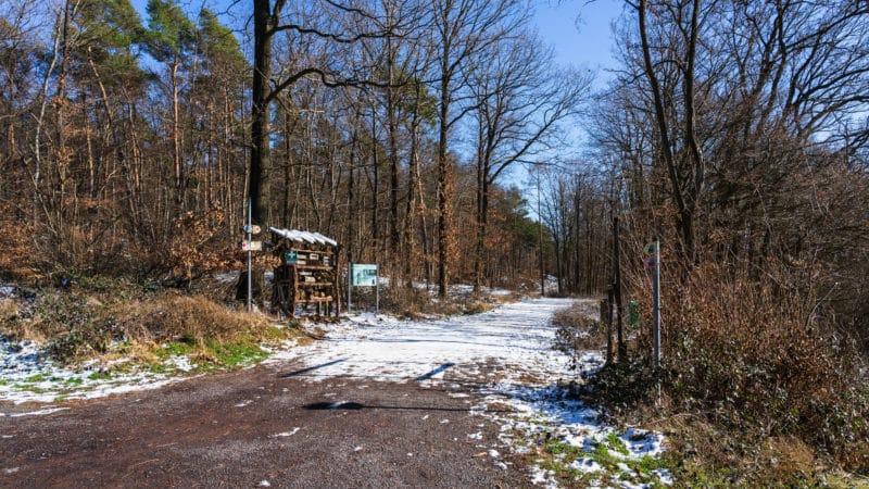 Station auf dem Dachsi Wanderweg